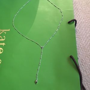 Rebecca Minkoff silver Neckless ball and danger